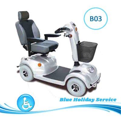 Alquilar un scooter eléctrico grande para las vacaciones en Gran Canaria