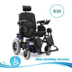 Alquilar la silla de ruedas eléctrica Deluxe para las vacaciones en Gran Canaria.