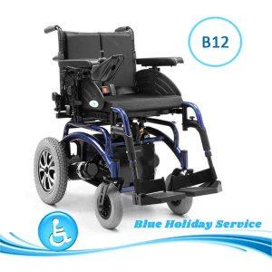 Alquilar silla de ruedas eléctrica estándar para las vacaciones en Gran Canaria