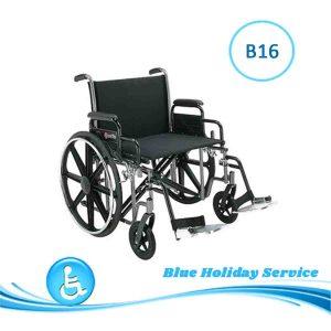 Alquilar silla de ruedas ancha para las vacaciones en Gran Canaria