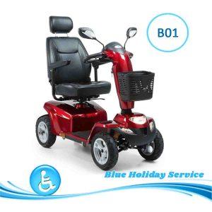 Alquilar scooter eléctrico Premier para las vacaciones en Gran Canaria