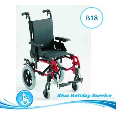 Alquilar silla de ruedas pediátrica para las vacaciones en Gran Canaria