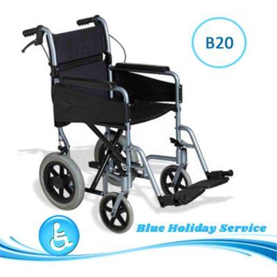 Alquilar silla de ruedas no autopropulsada para las vacaciones en Gran Canaria