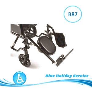 alquilar reposapiés para silla de ruedas en Gran Canaria